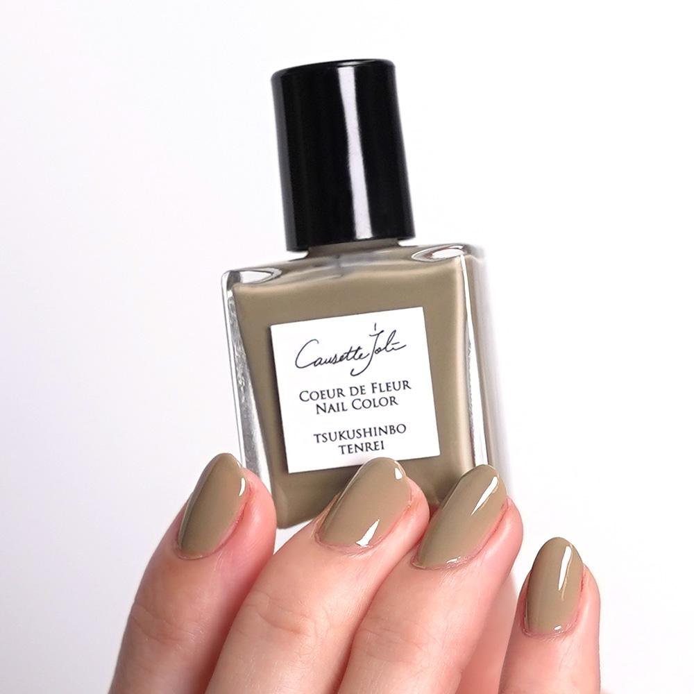 【TSUKUSHINBO TENREI】 Coeur de Fleur Nail Color