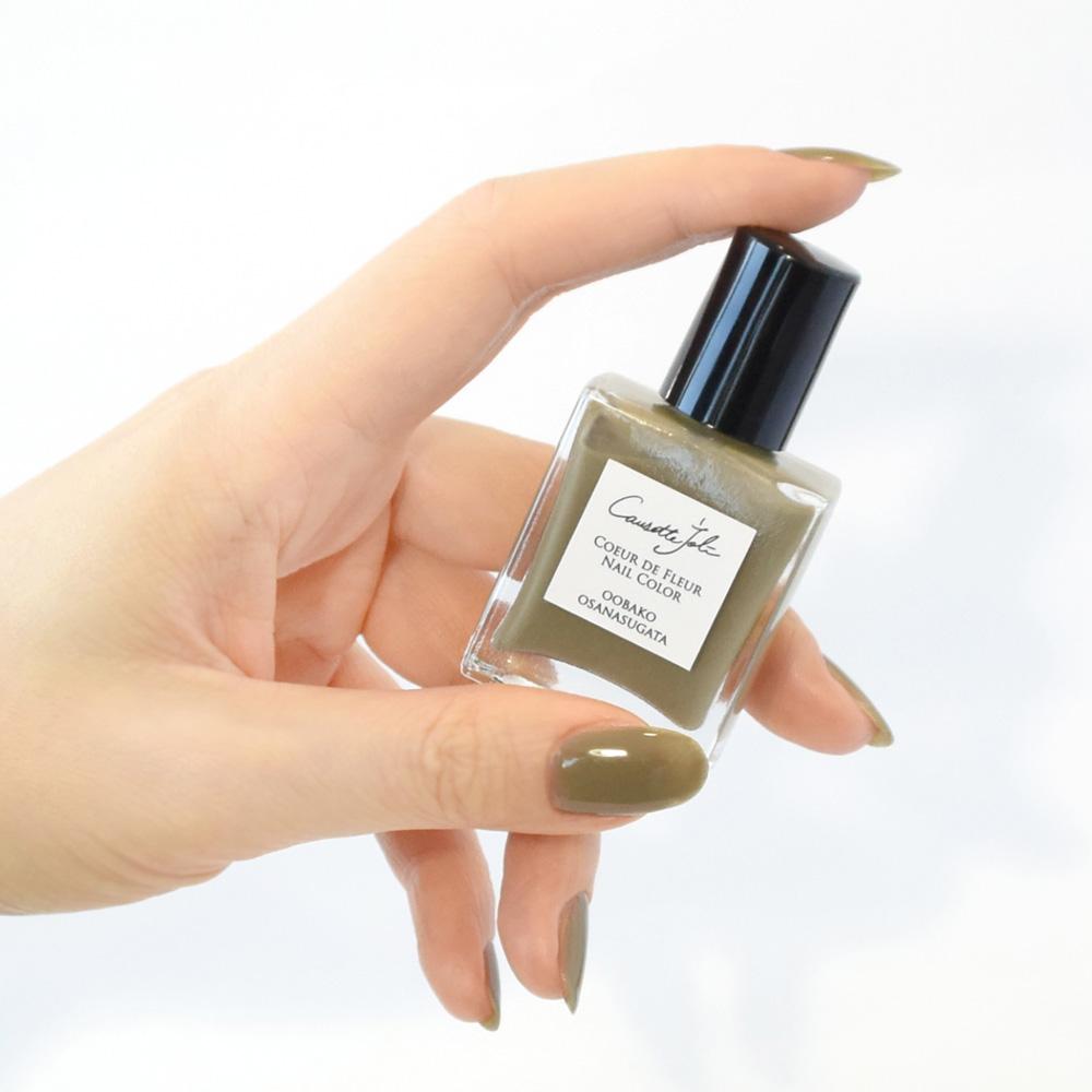 【OOBAKO OSANASUGATA】 Coeur de Fleur Nail Color