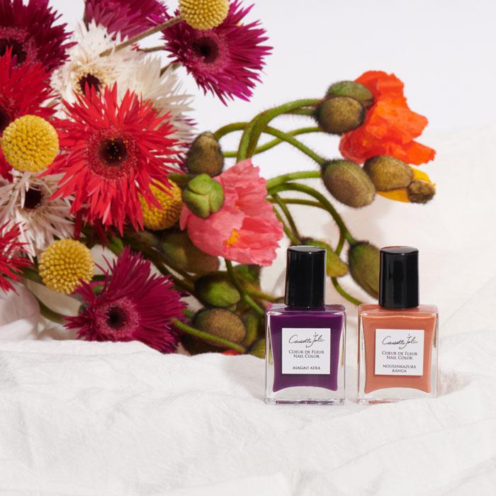【ASAGAO AEKA】 Coeur de Fleur Nail Color