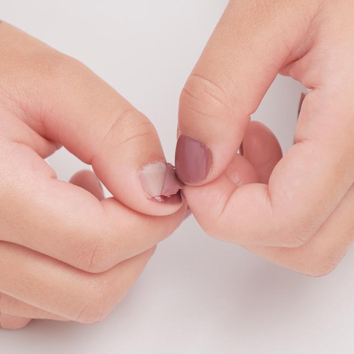 【しゃくやく たんれい】子供用 La petite coquine Peel Off Nail Polish
