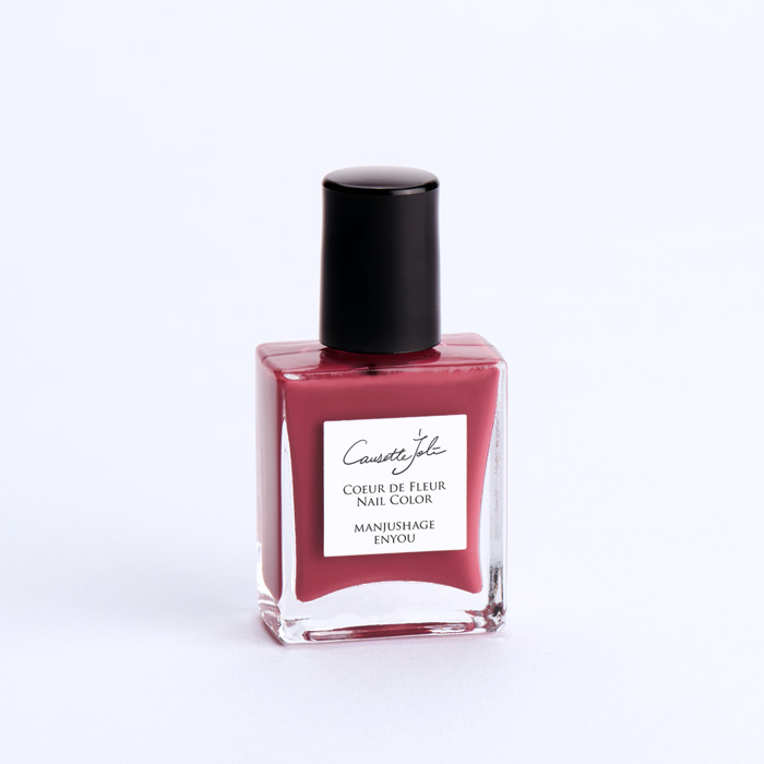 【MANJUSHAGE ENYOU】 Coeur de Fleur Nail Color