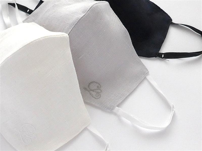 【ラージサイズ】マスク/CL刺しゅう2