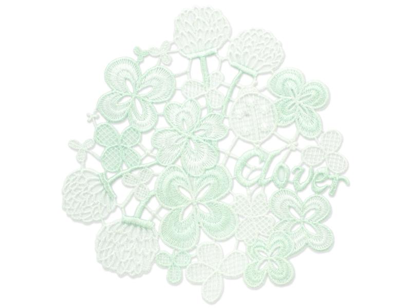 【SALE】シーズンギュピールインテリア/ドイリー/クローバー