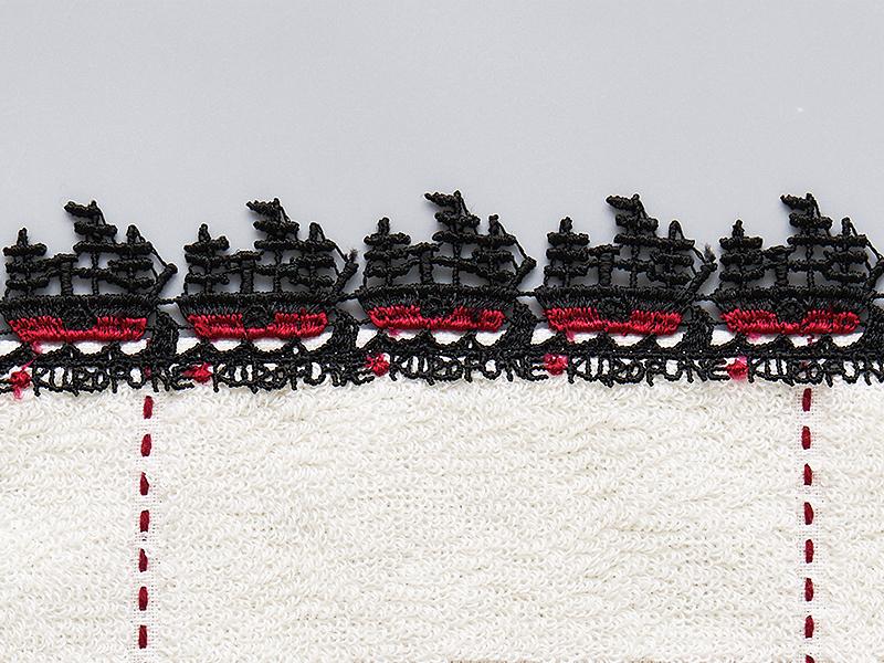 シーズンタオルハンカチ/黒船・レース
