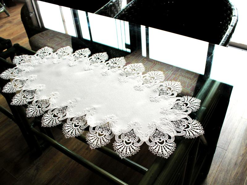 ヨーロピアンレース テーブルセンター41x81cm