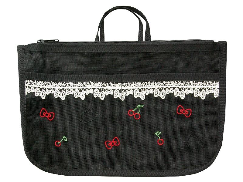 ハローキティメッシュ/バッグインバッグ