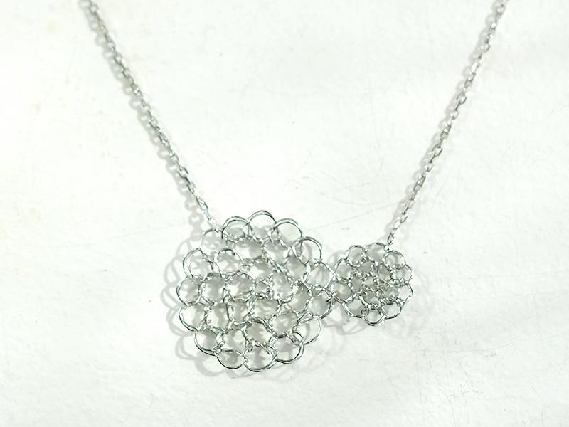 【受注販売】Yorisou Necklace - Crochet with Wire-