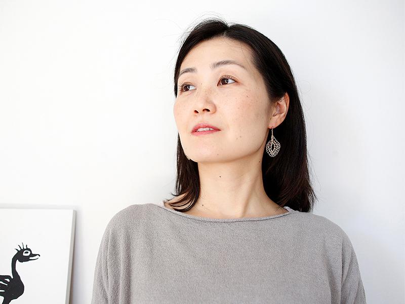 【受注販売】Tsunagari Earring - Crochet with Wire-