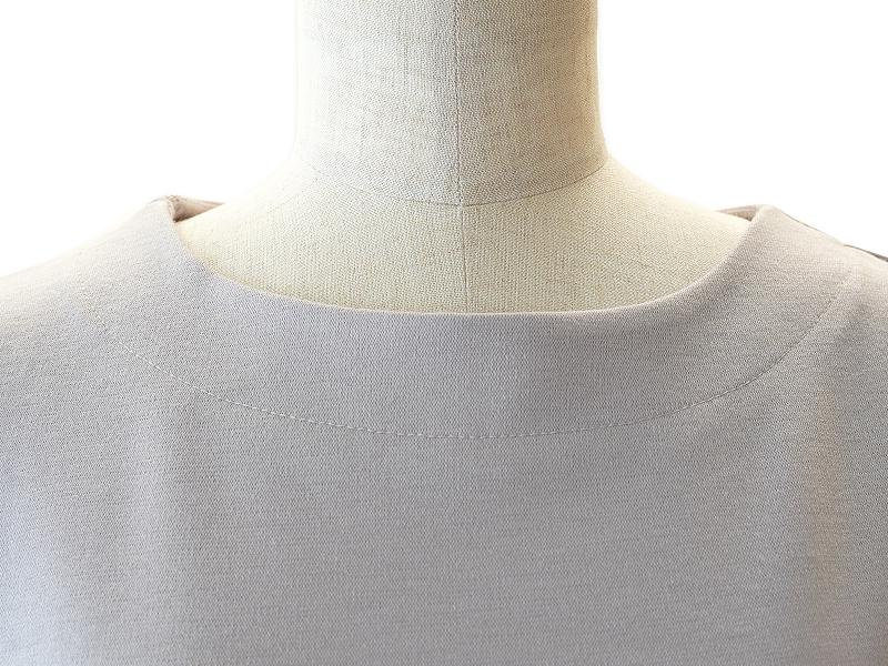 リラックスウェア/長袖Tシャツ・ベージュ