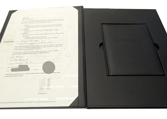 【中古】リシャールミル RM055 バッバ・ワトソン ATZ/TI スケルトン文字盤 手巻き ラバー