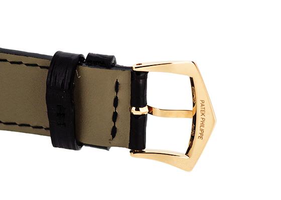 パテックフィリップ 5119R-001 カラトラバ RG 白文字盤 手巻き レザー