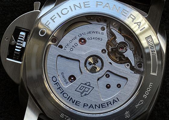 オフィチーネ パネライ PAM01312 ルミノール マリーナ 1950 3デイズ SS 黒文字盤 自動巻き レザー
