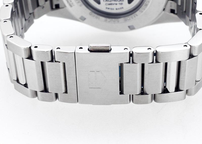 【未使用品】タグホイヤー CV2A1U.BA0738 カレラ キャリバー16 デイデイト SS グレー文字盤 自動巻き ブレスレット