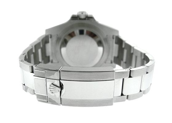 ロレックス 116710BLNR オイスターパーペチュアル GMTマスター� SS 黒文字盤 自動巻き ブレスレット