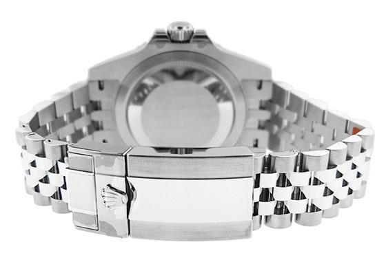ロレックス 126710BLRO オイスターパーペチュアル GMTマスター� SS 黒文字盤 自動巻き ブレスレット