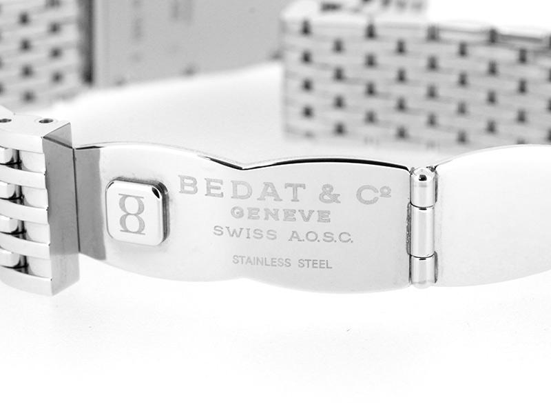 ベダ&カンパニー 386.031.600 レディース No.3 ヘキサゴン ベゼルダイヤモンド SS シルバー文字盤 クォーツ ブレスレット