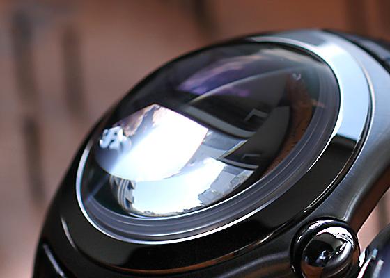 【中古】 コルム 82.170.20.OF01R0FL バブル ロイヤルフラッシュ リミテッドエディション2006 SS グリーン文字盤 自動巻き レザー