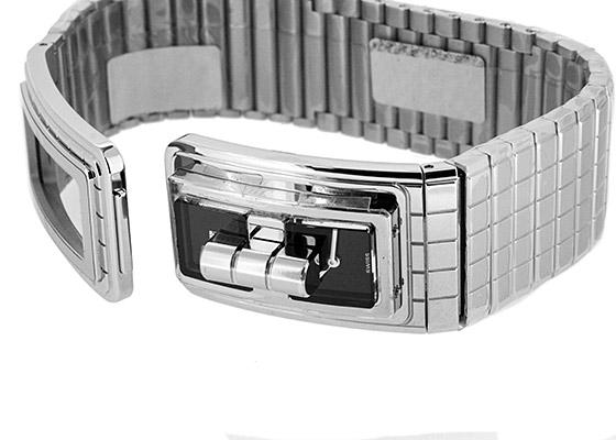 シャネル H5144 レディース コードココ SS 黒文字盤 クォーツ ブレスレット