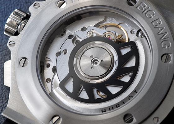 【近日入荷】ウブロ 341.SB.131.RX ビッグバン スチールセラミック 41mm SS カーボン文字盤 自動巻き ラバー