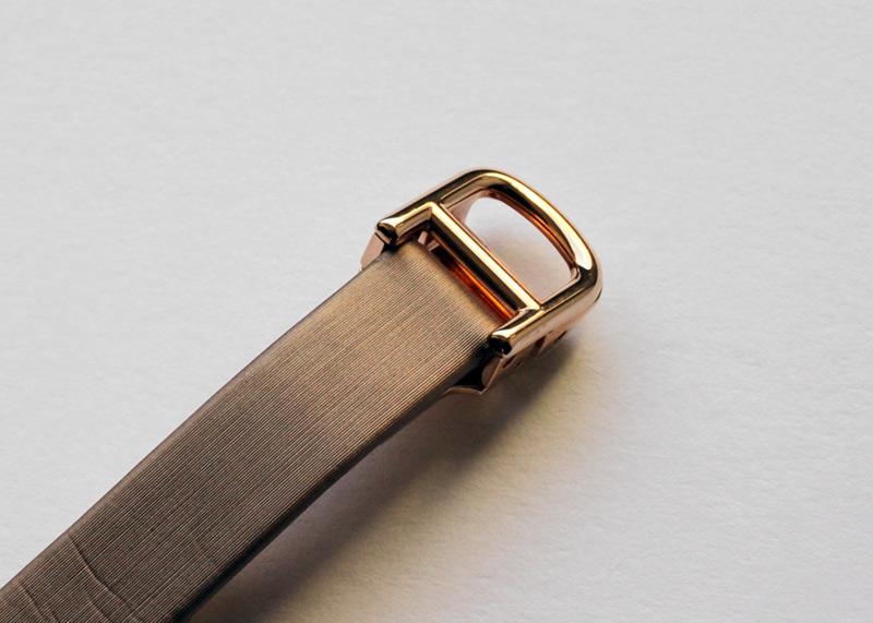 カルティエ WB520004 レディース ベニュワール ダイヤモンドケース SM PG シルバー文字盤 クォーツ トワルストラップ