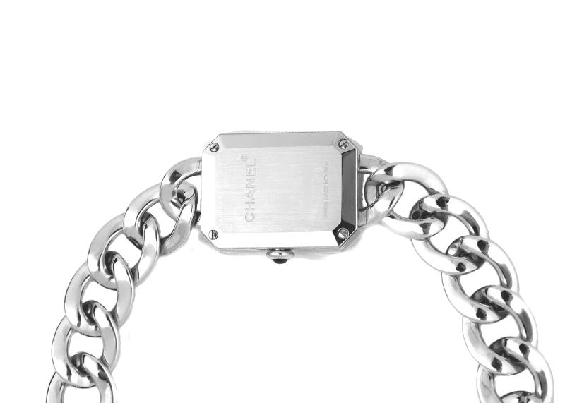 【未使用品】シャネル H3249 レディース プルミエール SS 白シェル文字盤 クォーツ ブレスレット