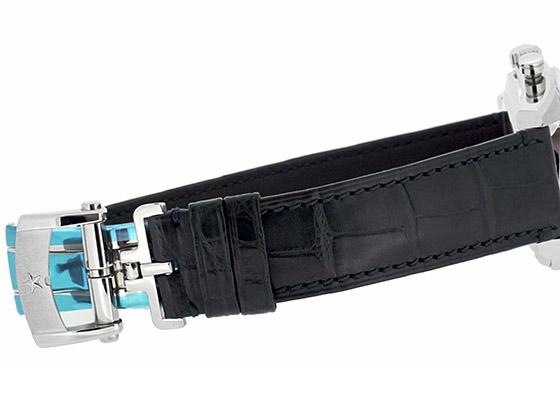 【未使用品】ゼニス 03.2040.4061/52.C700 クロノマスター 1969 SS ブルー文字盤 自動巻き レザー