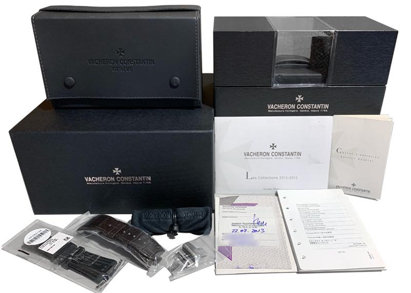 【生産終了】ヴァシュロンコンスタンタン オーヴァーシーズ クロノグラフ 49150/B01A-9095 【中古】