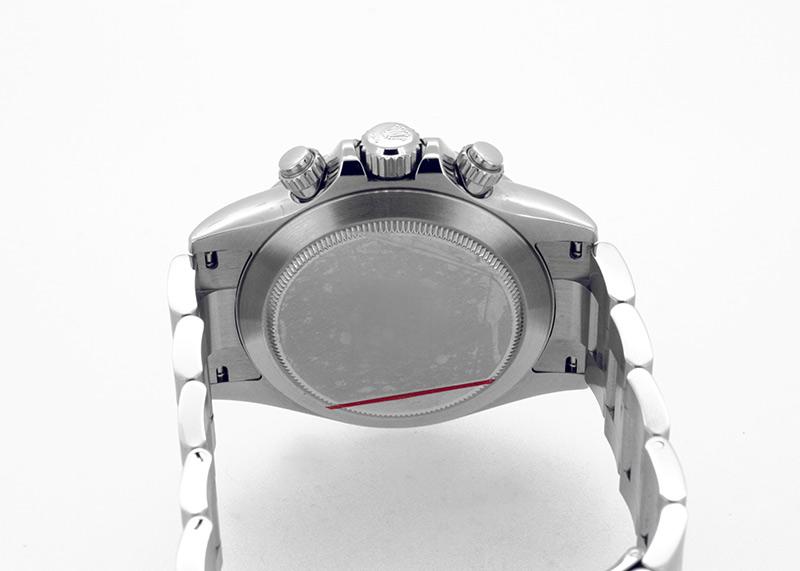 【中古】ロレックス 116520 コスモグラフ デイトナ SS 黒文字盤 自動巻き ブレスレット【最終モデル 鏡面バックル】