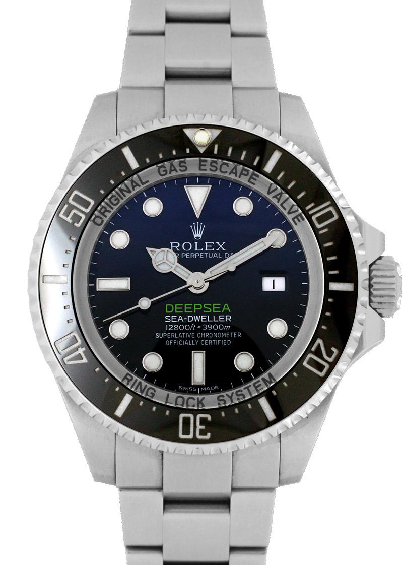 【中古】ロレックス 116660 シードゥエラー ディープシー D-BULE SS ブルー/黒文字盤 自動巻き ブレスレット