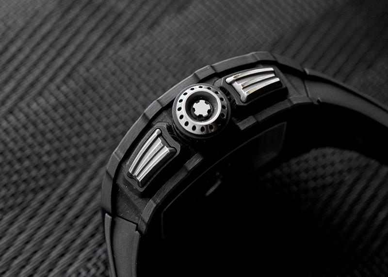 【新品同様】リシャール ミル RM11-03 オートマティック フライバック クロノグラフ カーボンTPT スケルトン文字盤 自動巻き ラバー【中古】