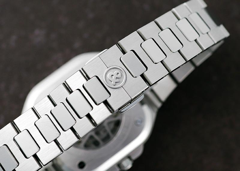 【中古】ベル&ロス BR05A-GR-SK-ST/SST BR05 スケルトン SS スケルトン文字盤 自動巻き ブレスレット