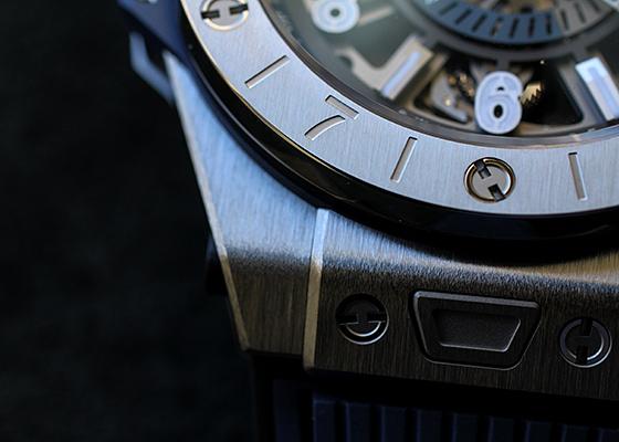 ウブロ 471.NX.7112.RX ビッグバン ウニコ GMT TI スケルトン文字盤 自動巻き ラバー