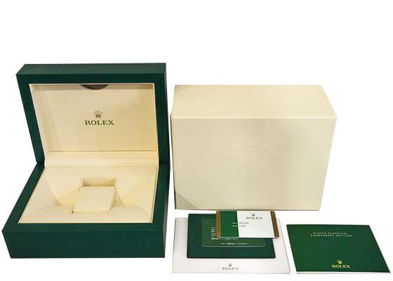 【中古】ロレックス 116509 コスモグラフ デイトナ WG ブルー文字盤 自動巻き ブレスレット