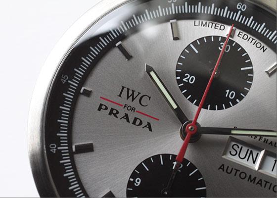 【PRADAコラボモデル】【2000本限定】IWC for PRADA GSTクロノグラフ IW370802【限定】