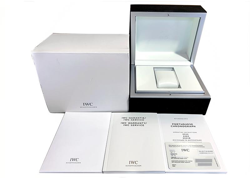 【中古】【正規品】IWC ポルトギーゼ クロノグラフ 金針 IW371445