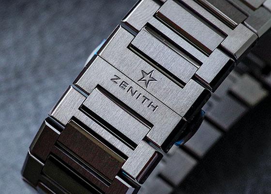 ゼニス 95.9002.9004/78.M9000 デファイ エルプリメロ 21 TI スケルトン文字盤 自動巻き ブレスレット