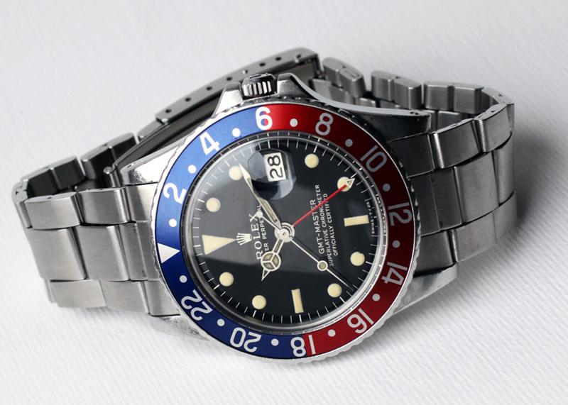 【1966年製】【ミラー ミニ針】ロレックス GMTマスター SS 1675 14番代 【ヴィンテージ品】
