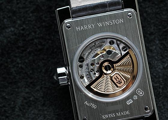 ハリーウィンストン AVEAHM21WW001  レディース アヴェニュー クラシック オートマティック WG 白シェル文字盤 自動巻き レザー