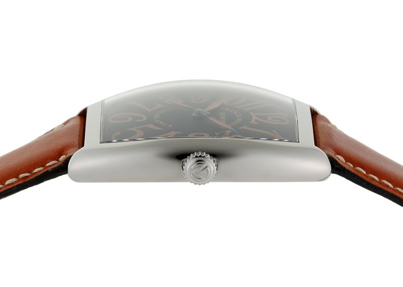 【中古】フランクミュラー 6850BC SHR カサブランカ サハラ SS 黒文字盤 自動巻き レザー
