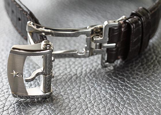 【未使用品】ゼニス 03.2040.4061/01.C494 クロノマスター 1969 SS シルバー文字盤 自動巻き レザー