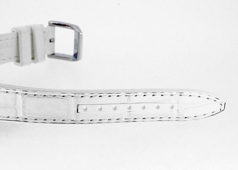 フランクミュラー V29QZD ACBC レディース ヴァンガード レディ ダイヤモンド  SS ホワイト文字盤 クォーツ クロコダイル/ラバー