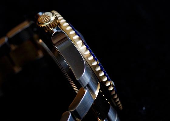 ロレックス 116613LB オイスターパーペチュアル サブマリーナー デイト YG&SS ブルー文字盤 自動巻き ブレスレット