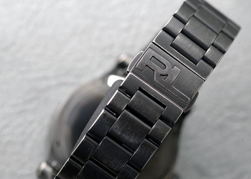 【未使用品】ラルフローレン RLR0250000 67 サファリ クロノメーター SS 黒文字盤 自動巻き ブレスレット