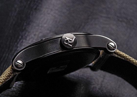 【未使用品】ラルフローレン RLR0220900 サファリRL67 クロノメーター 45mm PVD 黒文字盤 自動巻き キャンバス