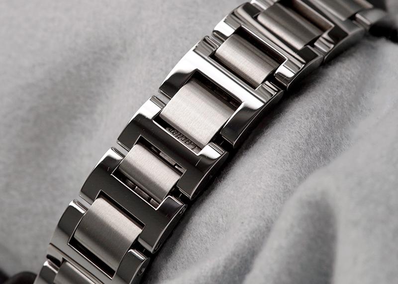 【中古】カルティエ WE902073 バロン ブルー  SM シルバー/11Pダイヤ文字盤 クォーツ ブレスレット