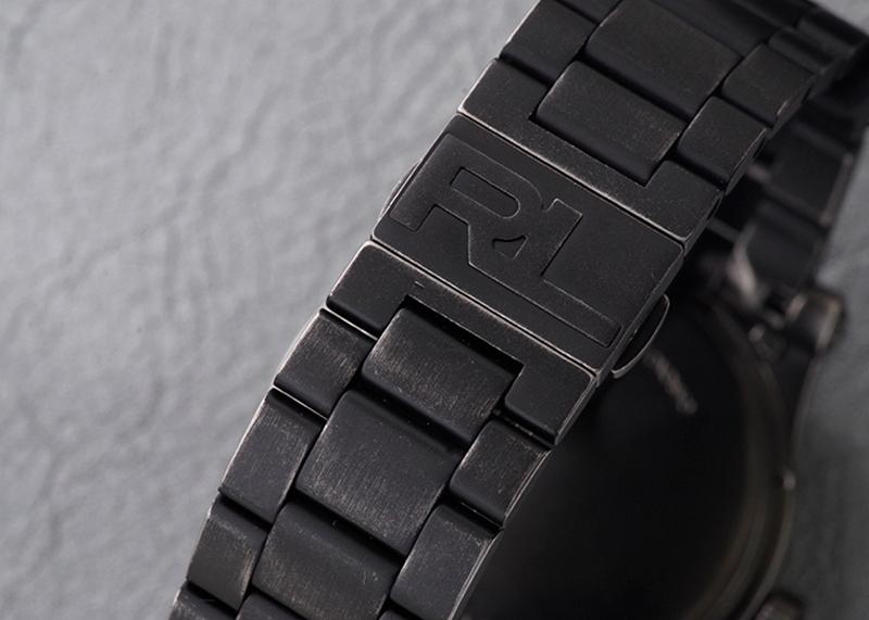 【未使用品】ラルフローレン RLR0220003 67 サファリ エイジングブレスレット SS カモフラージュ文字盤 自動巻き ブレスレット