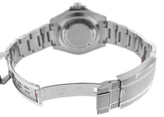 【デッドストック】ロレックス 116600 シードゥエラー 4000 SS 黒文字盤 自動巻き ブレスレット