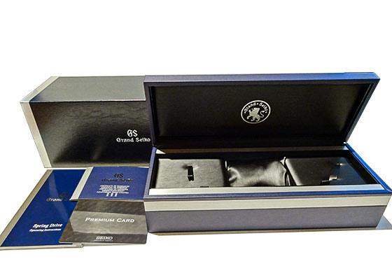 【中古】グランドセイコー SBGC223 スポーツコレクション スプリングドライブ クロノグラフ GMT TI/CE 黒文字盤 スプリングドライブ ブレスレット【委託品】