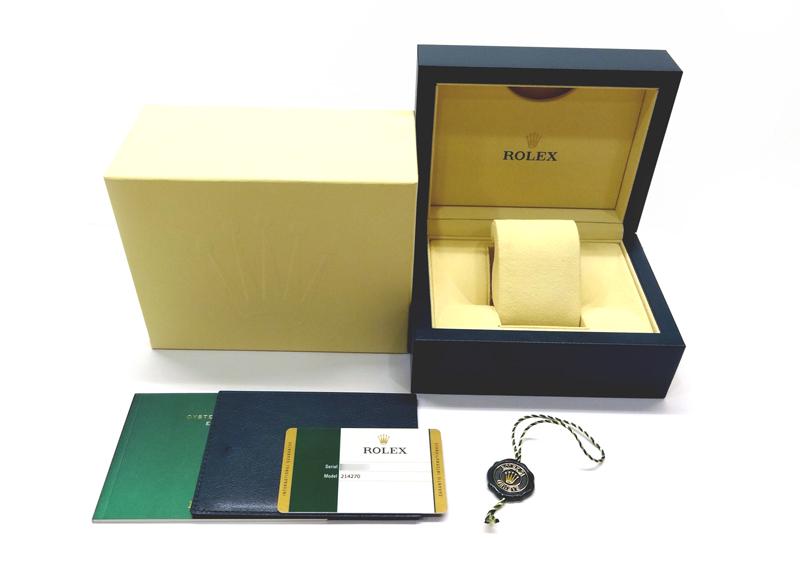 【中古】ロレックス 214270 オイスターパーペチュアル エクスプローラーI  SS 黒文字盤 自動巻き ブレスレット