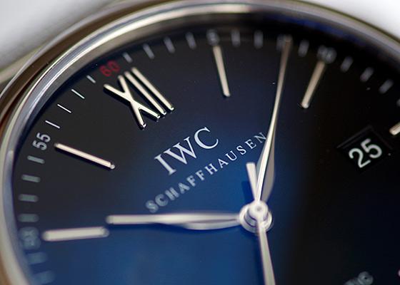 IWC IW356506 ポートフィノ SS 黒文字盤 自動巻き ブレスレット